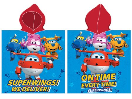 Pončo Super Wings 01-2 50x100 cm